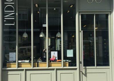Devanture boutique L'Indice Opticien